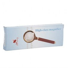 30x5 карманный лупа с деревянной ручкой