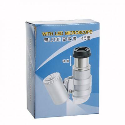 45x микроскопа / эндоскопа с 2-LED подсветкой (3 * lr927)