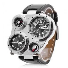 Кварцевые часы унисекс с несколькими циферблатами (разные цвета)