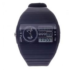 многофункциональный синий аналоговый цифровой дисплей водонепроницаемые наручные часы