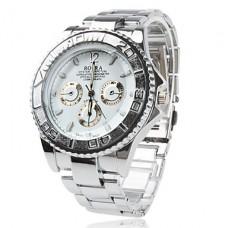 Кварцевые металлические часы для мужчин