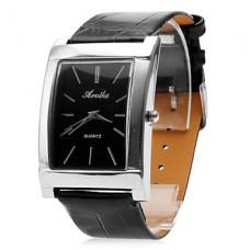 Водонепроницаемые аналоговые кварцевые часы унисекс gz0009009 (черные)