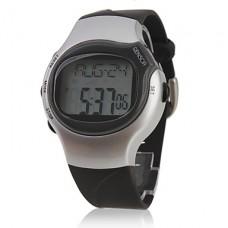 импульсов сердца калорий Rate Monitor счетчик остановится автоматические часы с будильником