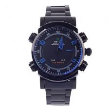 Вайде WH-1101 мужская синяя кварцевые часы