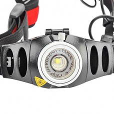 Регулируемый 2-режимный налобный фонарь с лампой Cree Q5 LED (3w, 200LM, 3xAAA)
