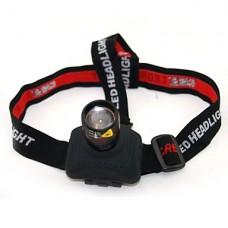 HolyFire С2 Cree XP-E Q5 350lm 3-Mode Белый Масштабирование Headlampp - черный и красный