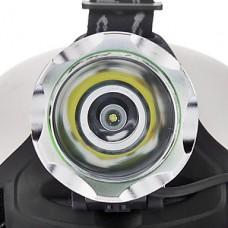 K1-2 3-Mode XP-E Q5 светодиодных фар (200LM, 2x18650, Черный)