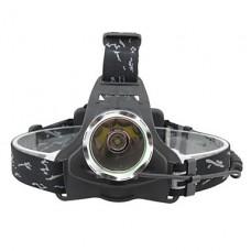Яркий Cree XM-L T6 светодиодные фары (1x18650, черный)