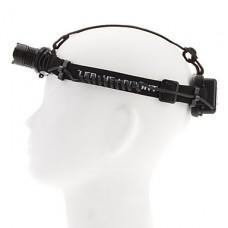 2-Mode Cree XR-E Q5 Увеличить Светодиодные фары (200LM, 1x18650/2xAAA, Черный)