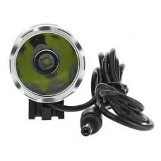 3-Mode Cree XM-L T6 светодиодный свет велосипедов / Фары (1000LM, 4x18650, серый)