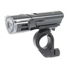 3-Mode 1xCree Водонепроницаемый светодиодный свет велосипедов / Фары (3xAAA, черный)