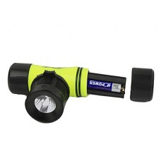 GD16 3-Mode Cree XP-G R2 светодиодной Дайвинг фары (250LM, 1x18650/3xAAA, желтый)