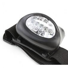 Светодиодный головной фонарь 3*ААА