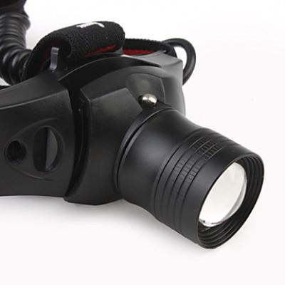 180LM 3-Mode Cree XR-E Q5 светодиодный гибкий супер яркие света (1 х 18650 батарей)