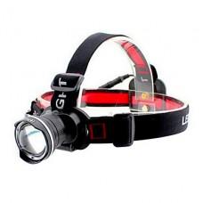 Goread T5 3-Mode Cree XM-L T6 светодиодный Увеличить фары (1000LM, 1x18650, синий / черный / красный / серебро)