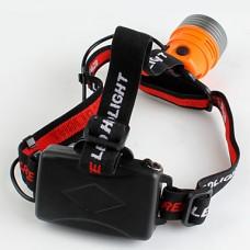 3-Mode Cree XR-E Q5 светодиодных фар (Работает на 3 х батареек АА, оранжевый)