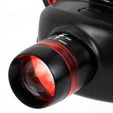Goread 3-Mode Cree XP-E Q5 светодиодный Увеличить фары (240LM, 3xAAA, черный + красный)