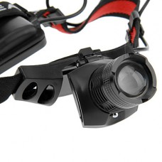 3-Mode Cree XPE-15 LED Увеличить фары (240LM, 3xAAA, черный)