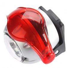 3-Mode 5-LED фара (2xCR2032, серебро)