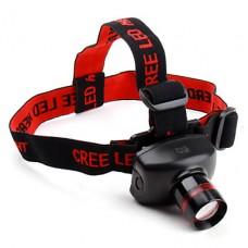 регулируемый зум Cree XR-E Q5 светодиодных фар (480LM)