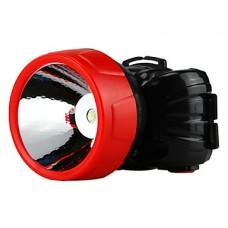 Черный ПВХ 1W 500mAh Аккумуляторная 1-светодиодные фары