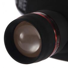 Фонарь налобный 3-режимный BD6103 с регулируемым фокусом 3W с LED холодного белого света (3xAAA, 180LM, черный)