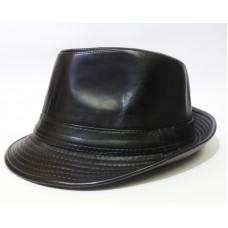 Шляпа кожаная Рондо 58