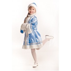 """Детский костюм """"Внучка деда мороза"""""""