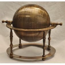 Глобус на четырех опорах большой