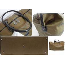 Кожанная сумка David Jones 55cm цвет хаки