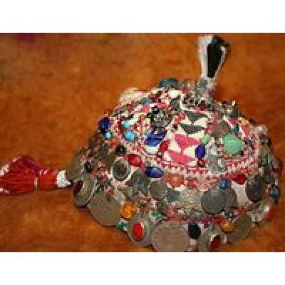 Женский афганский головной убор