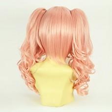 Copslay парик Вдохновленный Dangan Ronpa Junko Эносиме