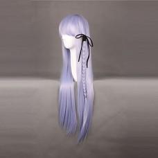 Dangan Ronpa Кеко Kirigiri светло-фиолетовый парик Cosplay