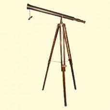 Телескоп кабинетный на треноге из красного дерева