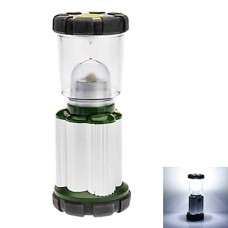 2-Mode кемпинга фонарь (3xAA, зеленый + серебро)