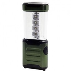 12-светодиодный Белый свет Отдых на природе лампы с компасом и подвесной крюк - Army Green (4 х АА)