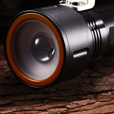 M9007 регулируемым фокусом 3-Mode 1xCree XP-G2 R5 аккумуляторные Фонари и палаток Lights (2x18650, 1200LM, серый)