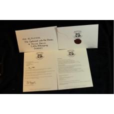 Письмо Гарри Поттеру из Школы чародейства и волшебства Хогвартс