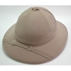 Колониальный пробковый шлем цвет кремовый