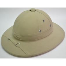 Колониальный пробковый шлем цвет белый