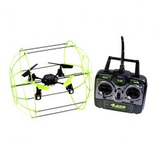 2.4G 4ch 4-осевой скалодром НЛО RC Quadcopter с гироскопом