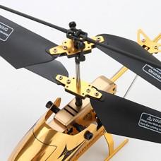 3,5-канальн. РУ вертолет с гироскопом (золотистый)