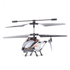 3,5-канальный гироскопа 3D мини-пульт дистанционного управления вертолетом (серебро)