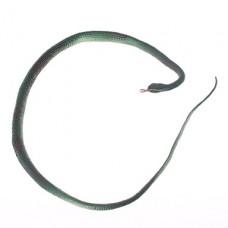 Страшно Lifelike Силиконовой змея игрушки (зеленый)