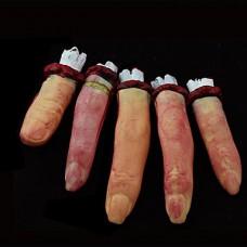 5шт хитрости Halloween Horror сломанный палец игрушки