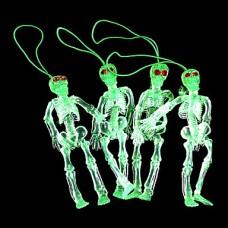 1PCS Emulational человека Кулон скелета (6x3x3cm, Random Color)