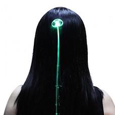 Волоконно-оптические светодиодные Свет-Up волос Барретт (разных цветов)