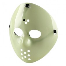 светящиеся в темноте Хэллоуина маски (зеленый)