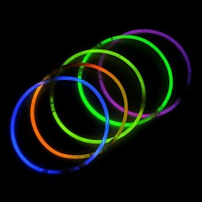 100PCS фосфоресцирующий ручки зарева Смешанные Случайные Реквизит Цвет концерт