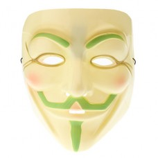"""Светящаяся в темноте маска """"V значит Vendetta"""""""